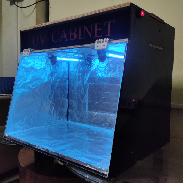 """UV CABINET""- PREVENTION FROM COVID 19"