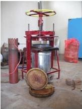 Improved Cook Stove Design for Hand Operated Leaf Plate and Cup Moulding Machine