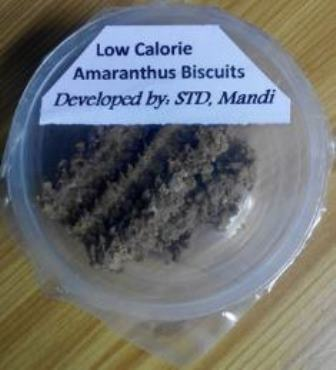Development of Low calorie Amaranthus Biscuits