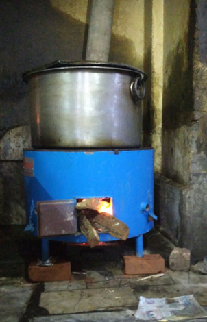 PYRO multi purpose stove for commercial and institutional cooking(2012-13)Phase I