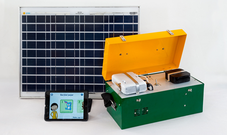 Solar powered pico projector (2018-2019) Phase I