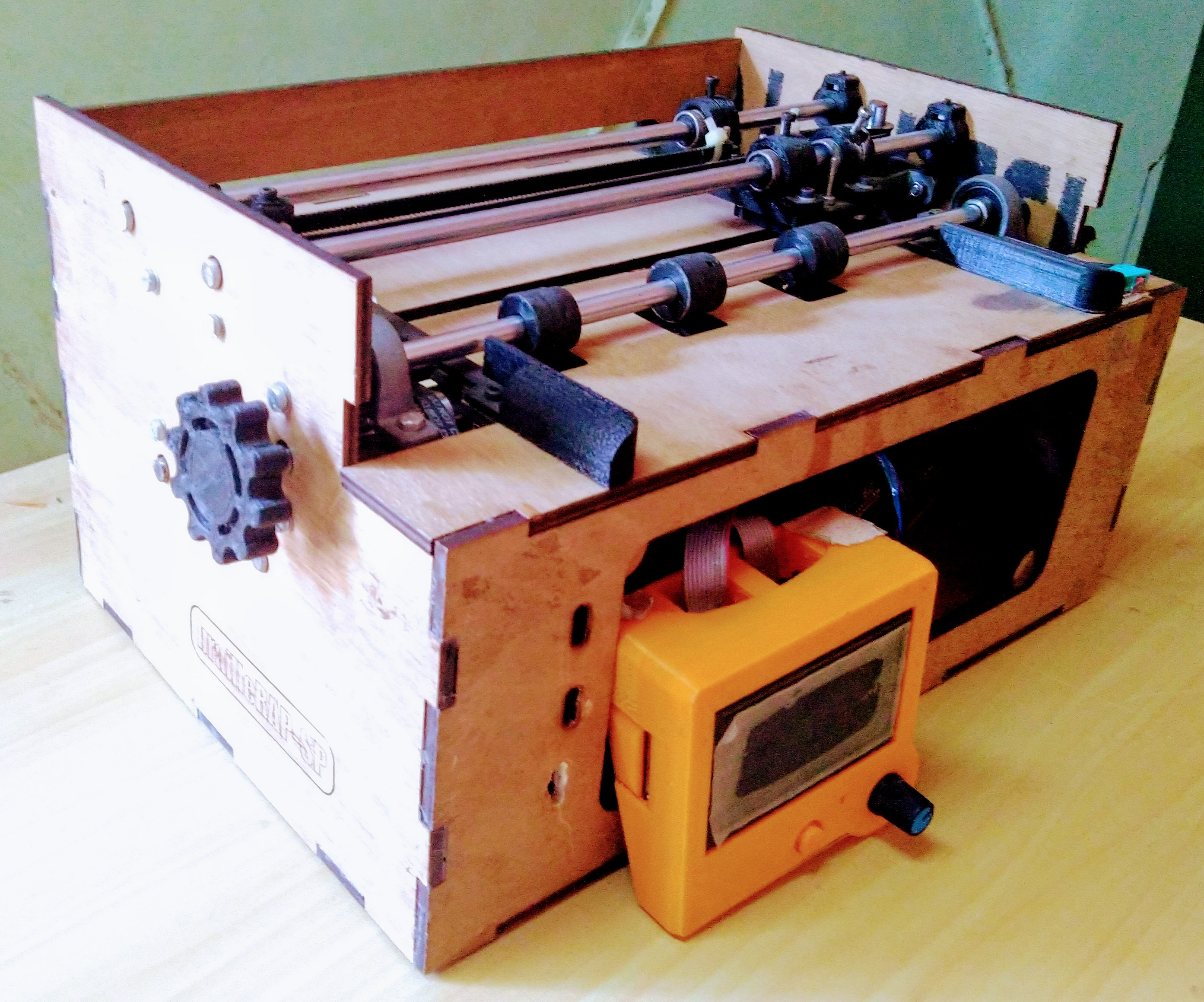 Braille Printer (2018-2019) Phase II