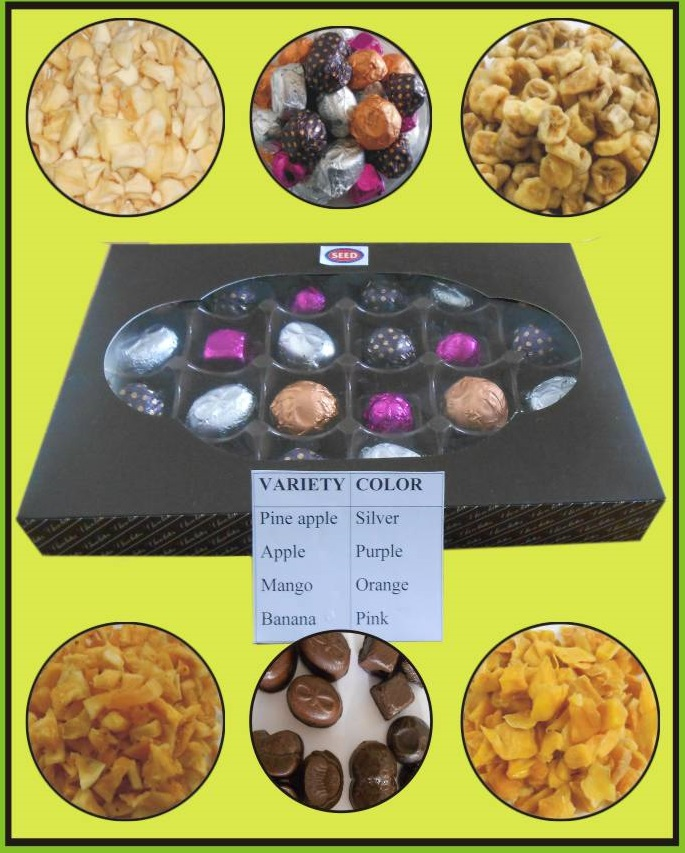 Development of Fruit Embedded Chocolates(2017)Phase II