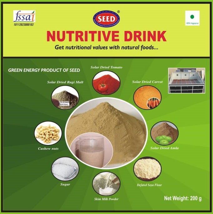Development of Enriched Nutritive Supplementary Drink by using natural foods(2013-14)Phase II
