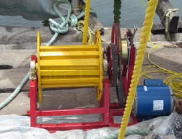 Motorized Winch for Chinese Fishing Net(2016)Phase II